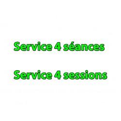 Service 4 Séances (99€)