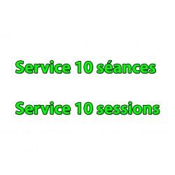 Service 10 Séances (199€)